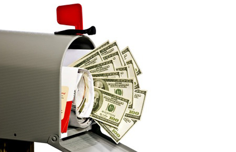 It is foolish to think huge sums of money will magically appear in your mailbox without any effort on your part. Personal action must be blended with your faith in manifesting wealth.