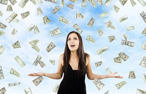 The Law of Attraction is NOT about easy money falling from the sky. It is intertwined with the Law of Cause and Effcet.