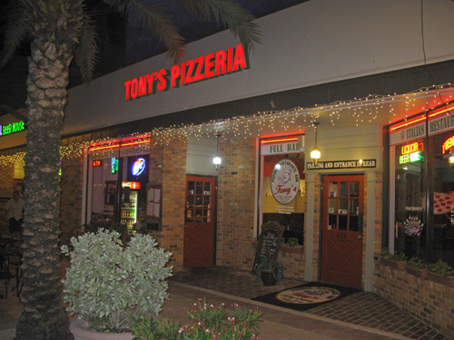 Tony's Pizzeria was were I chose to leave one dollar on Day 7 of the Law Of Attraction.