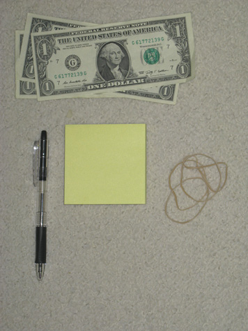 This is how you can start to prepare your dollar to call in the Law Of Attraction.