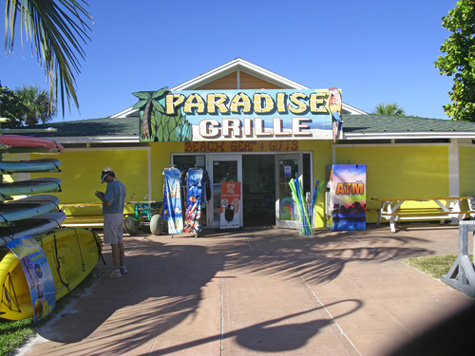 Paradise Grille. One of my favorite places to give thanks to God for the Law of Attraction.