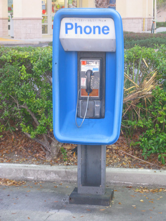 I chose to leave one dollar at this pay phone. I know it will help someone prosper today.